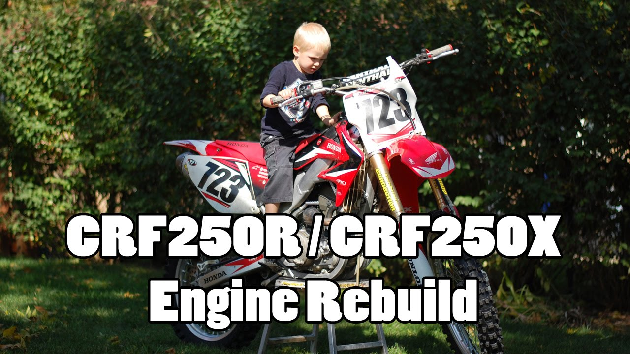 07′ CRF250R Engine Rebuild – Bottom End – How-To Motorcycle