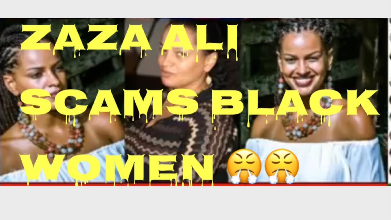 Nicole Tyler: ZAZA ALI gets busted for trying to scam 15K from Black Women!!