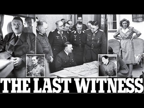 Bodyguard who found Hitler and Eva Braun's dead bodies and once walked in on Führer's.