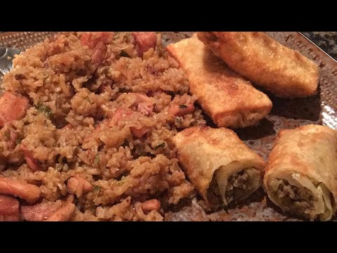 Cajun Chicken Eggroll Recipe