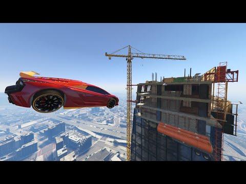 FAST & FURIOUS BUILDING JUMP! (GTA 5 Online)