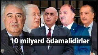 """""""İcra başçıları büdcəyə 10 milyard pul ödəməlidirlər"""" - Rəsul Quliyevlə CANLI"""