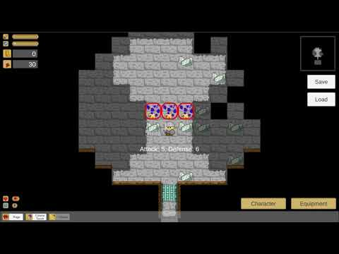 Corona Touch, New Spell In Upcoming RPG/RogueLike Game. Golden Fall 2.
