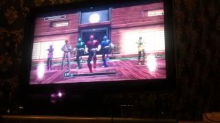 Power Rangers battle training (Kinect xbox 360)