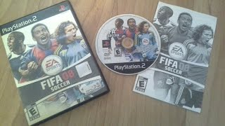 Unboxing: Fifa Soccer 08 PlayStation2 (PS2)