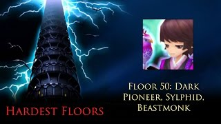 summoners war toa hardest floors 50 dark pioneer sylphid beasmonks
