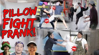 Pillow Fight Prank | Philippines (Pranking Lloyd Cafe Cadena, Gloco & Senpai Kazu)