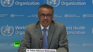 YouTube動画:WHO briefing amid over 900,000 COVID-19 cases worldwide