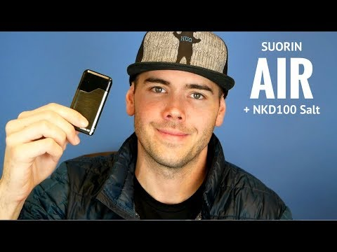 Suorin Air Portable Pod System  Similar To The JUUL?