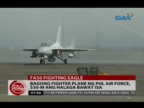 WORTH $60 MILLION! New FIGHTER JET ng Philippine Air Froce from KOREA