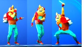 NEW [LIL WHIP] ICE CREAM SKIN SHOWCASE WITH NEW FORTNITE DANCES & NEW EMOTES. 🍦🍦🍦