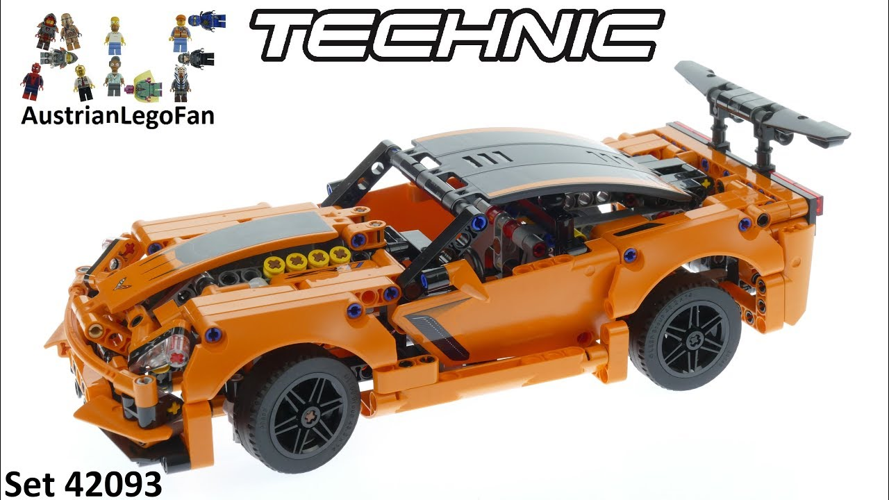 lego technic 42093 chevrolet corvette zr1 lego 42093. Black Bedroom Furniture Sets. Home Design Ideas