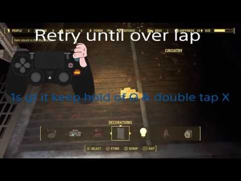Fallout 4 duplication glitch PS4 *WORKING*(resources only)