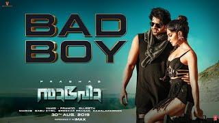 Saaho: Bad Boy Song | Prabhas, Jacqueline Fernandez | Badshah, Benny Dayal, Sunitha Sarathy