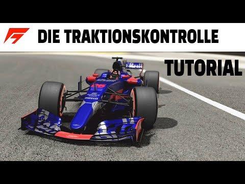 F1 FAHRHILFEN: Die TRAKTIONSKONTROLLE Game Tutorial   Tipps & Tricks   Deutsch/German