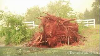 Damaging supercell strikes Norman, OK!  June 14, 2011