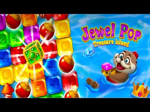 Jewel Pop : Treasure Island Android Gameplay ᴴᴰ