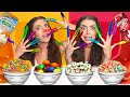 ASMR EATING MY OWN SUPER LONG NAILS *CARDI B NAILS* BROWNIE M&M, YOGURT SKITTLES, NERDS CANDY