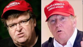 Michael Moore endorses Donald Trump, the biggest F^CK You to the establishment!