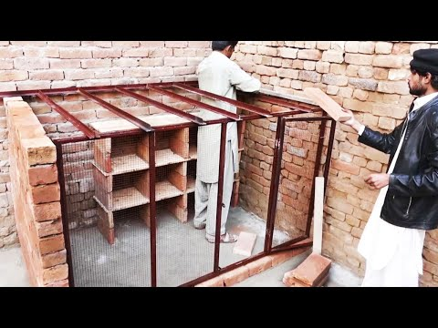 How we make Simple and Beautiful Pigeon house in our home