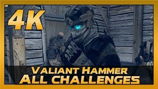 Ghost Recon: Future Soldier (PC) | 4K 60fps | Mission 9 Valiant Hammer | All Challenges Walkthrough