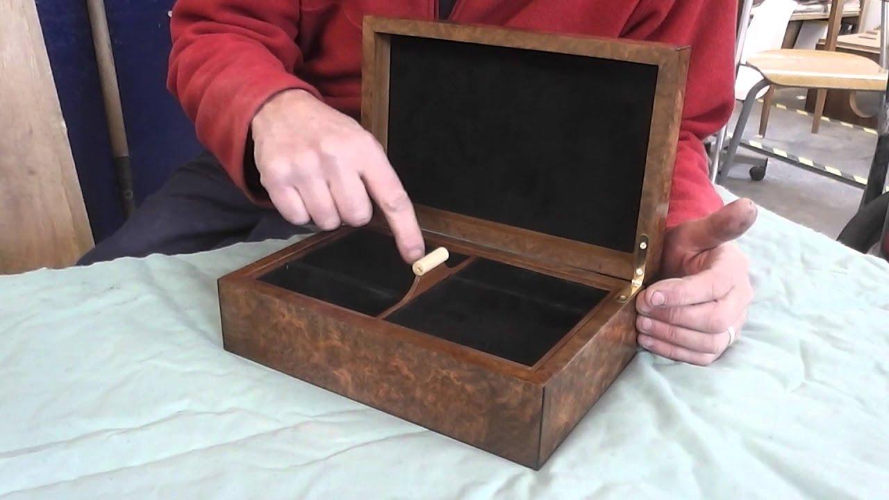 Burr Walnut Jewellery Box YouTube