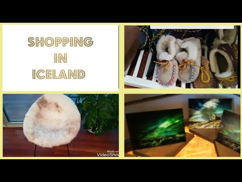 Iceland Shopping Browsing What to buy? Souvenirs VLOG 7 10-14/01