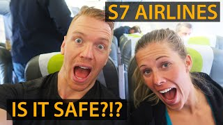 S7 AIRLINES FLIGHT REVIEW - Is it SAFE to fly in Russia?