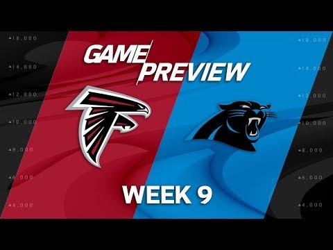 Atlanta Falcons vs. Carolina Panthers   Week 9 Game Preview   NFL Playbook