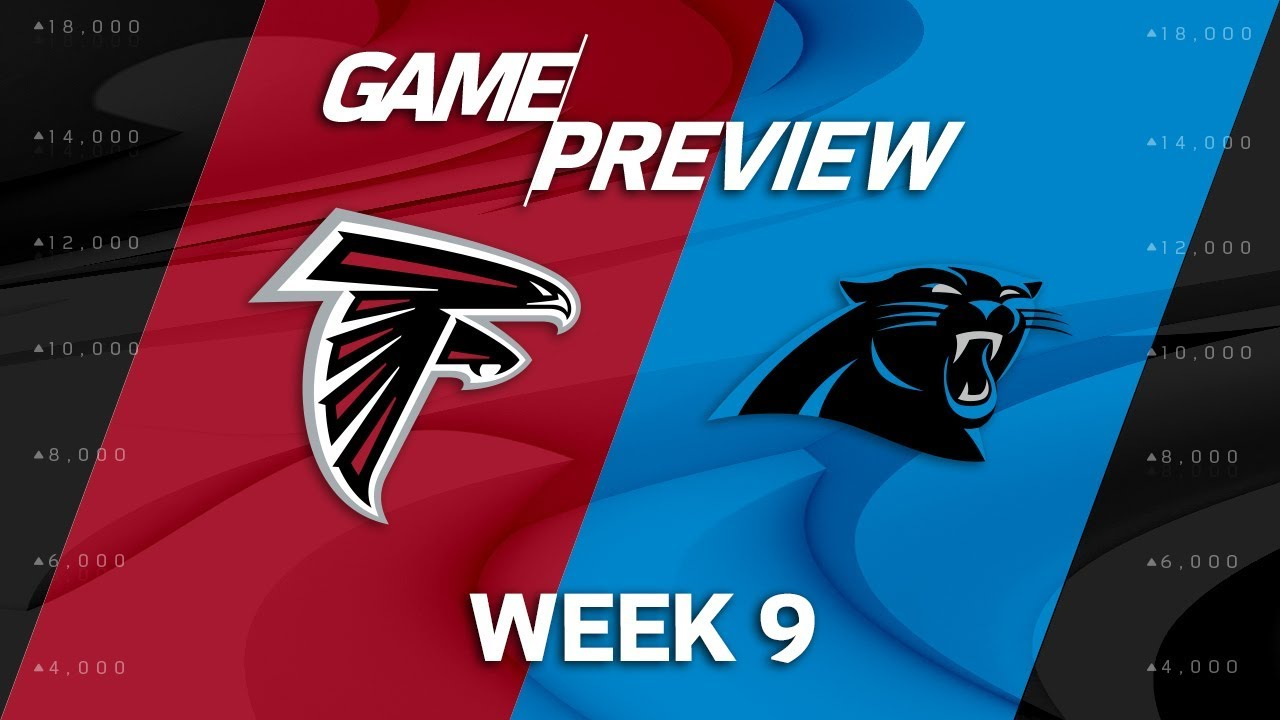 90417522 Atlanta Falcons vs. Carolina Panthers | Week 9 Game Preview | NFL Playbook