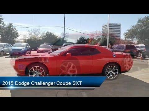 2015 Dodge Challenger Coupe SXT Richardson Plano Rockwall Garland Carrollton Mckinney