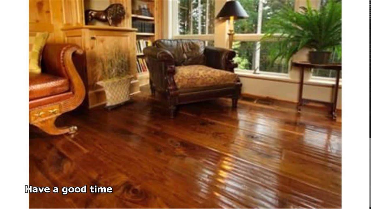 hand scraped wood floors - Hand Scraped Wood Floors - YouTube