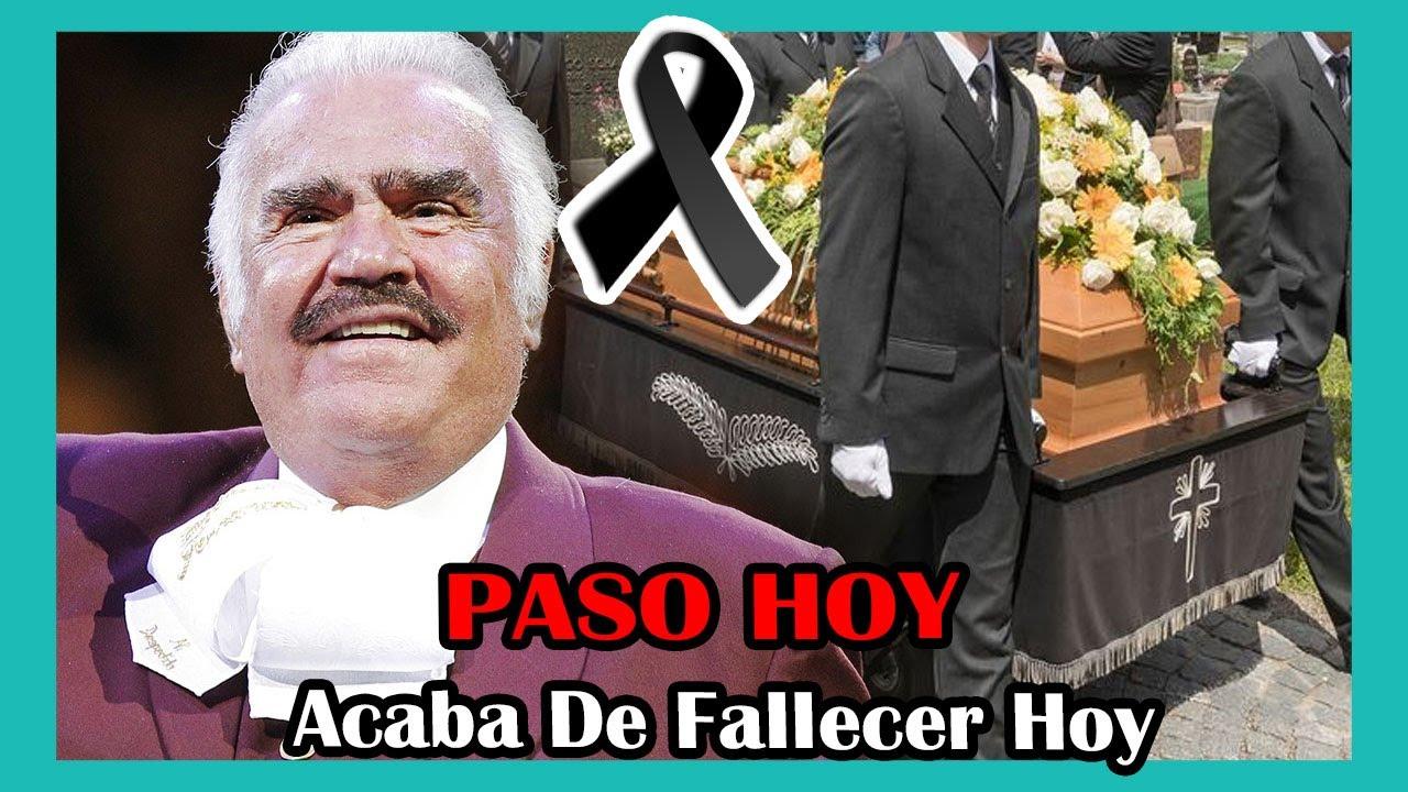Download ➕SUCEDIO HOY! Descansa en paz, Triste noticia sobre el famoso cantante Vicente Fernández hoy 2021