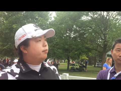 LPGA Volvik Championship leader Shanshan Feng