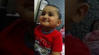 Funny baby video.. Cuteness overloaded