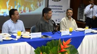 Rueda de prensa con Tony Meléndez #SemanaCultural @unimagdalena