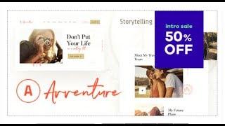 Avventure | Personal Travel & Lifestyle Blog WordPress Theme | Themeforest Templates