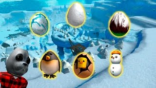 How to get eggs snow location Roblox EggHant 2017