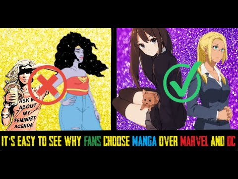 Download Marvel, DC Failing and Manga Surging as Comic Book author EXPOSES truth about the Industry