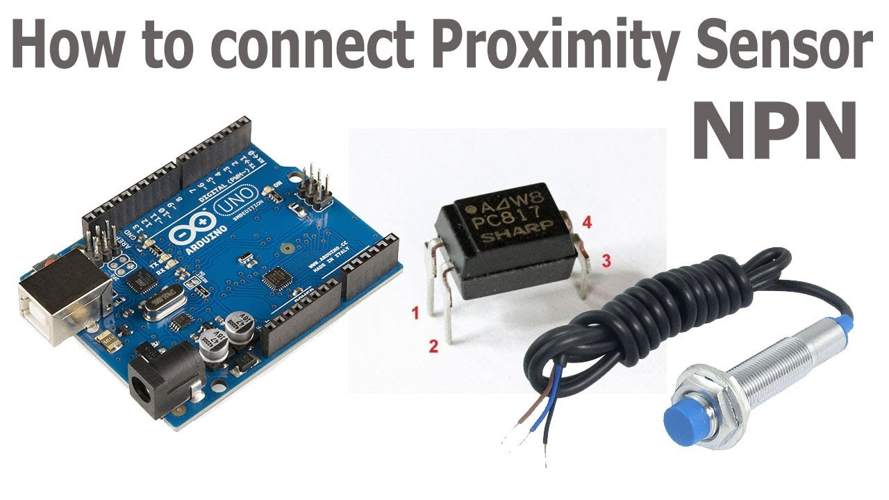 Using Inductive Proximity Sensors With Arduino Youtube Sensor Wiring Diagram On Magnetic Circuit