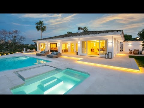 Extraordinary Frontline Golf Modern Luxury Villa in Nueva Andalucía, Marbella, Spain | Drumelia from YouTube · Duration:  1 minutes 3 seconds