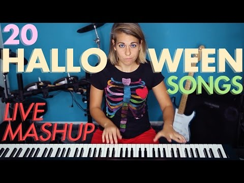 20 Halloween Songs in 3 minutes MASHUP!