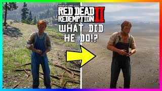 Arthur Ruined This Guy's Life In Red Dead Redemption 2 & He Tells John About It 8 Years Later!