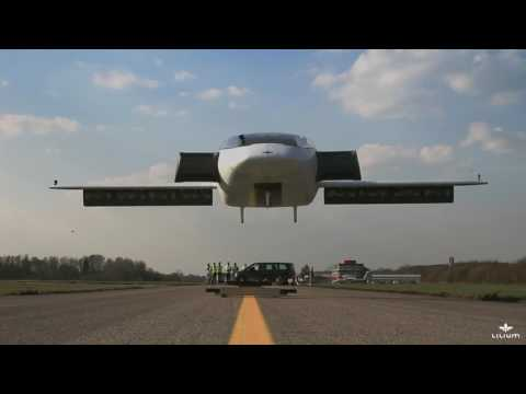 The Lilium Jet – The worlds first allelectric VTOL jet