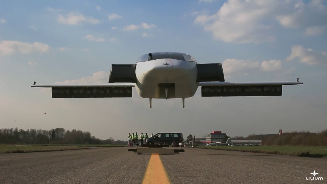The Lilium Jet World S First All Electric Vtol