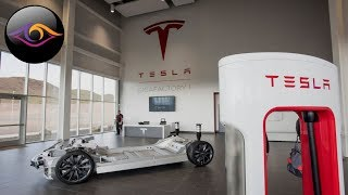 Новый завод Tesla на котором создается будущее