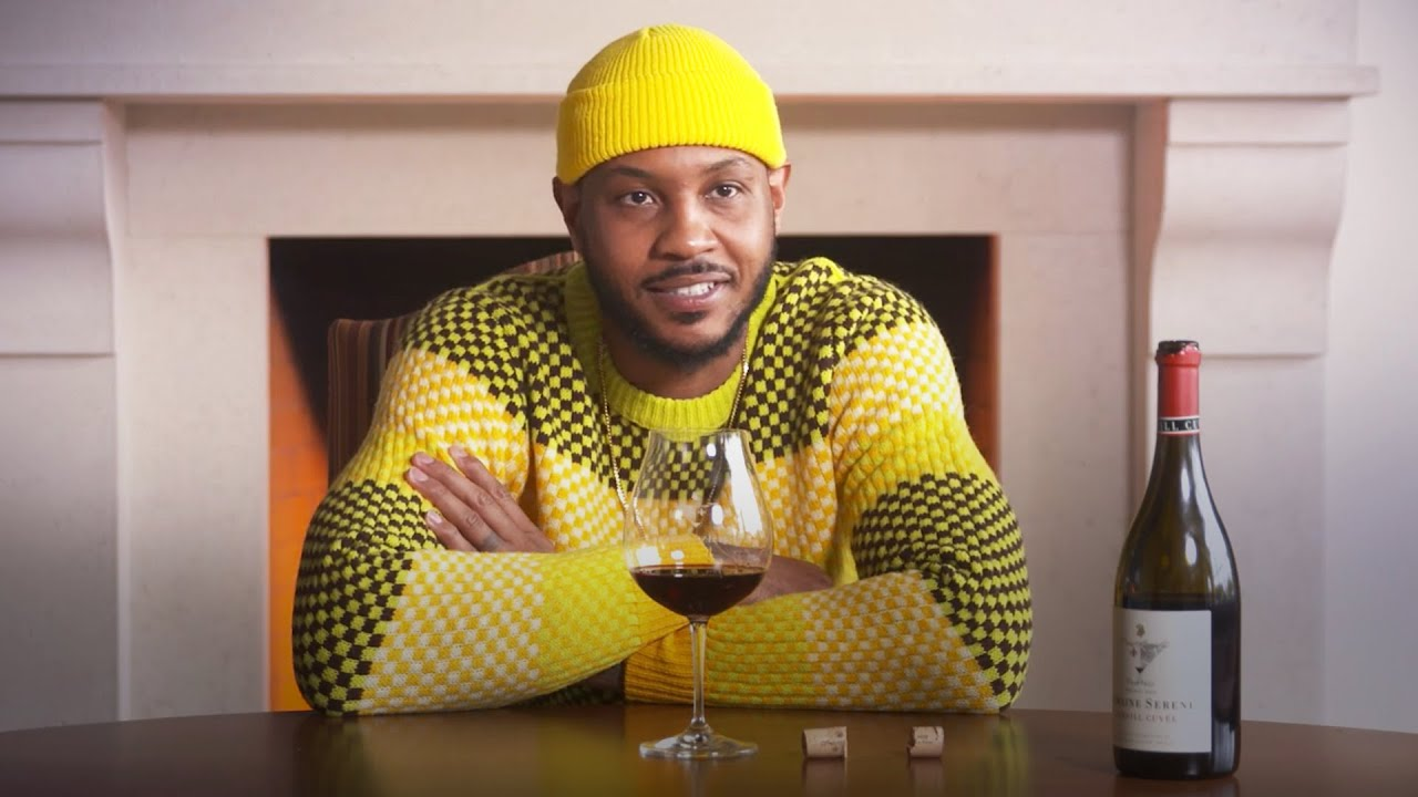 Carmelo Anthony becomes wine connoisseur, discusses NBA suspension | RSN