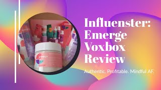 Influenster: Emerge Voxbox Review By India Rochelle