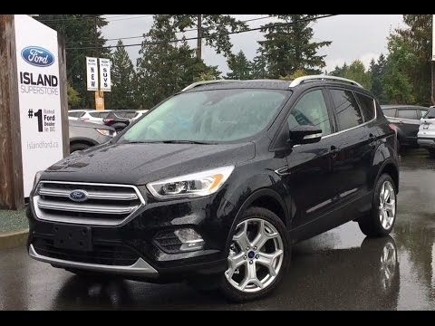 2017 Ford Escape Titanium W/ NAV & SYNC Connect Review| Island Ford