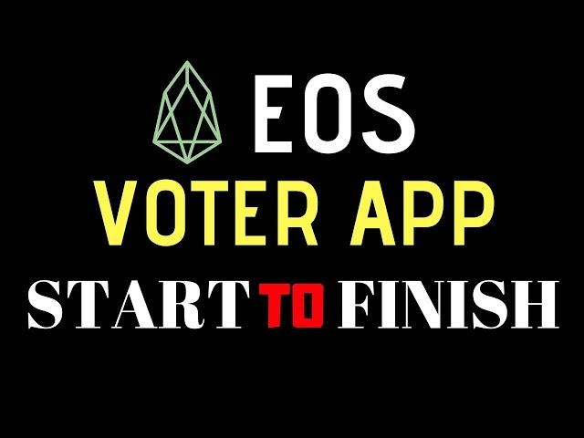 How To EOS Vote For BP Using Greymass EOS Voter App